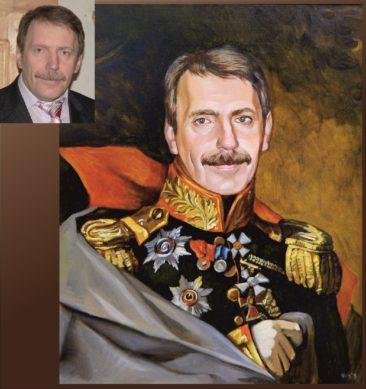 Настоящий портрет маслом на заказ в Ташкенте…