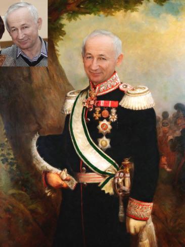 Где заказать исторический портрет по фото на холсте в Ташкенте?