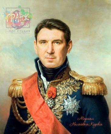 Портрет по фото на холсте в подарок мужчине Ташкент