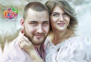 Где заказать портрет по фотографии на холсте в Ташкент?
