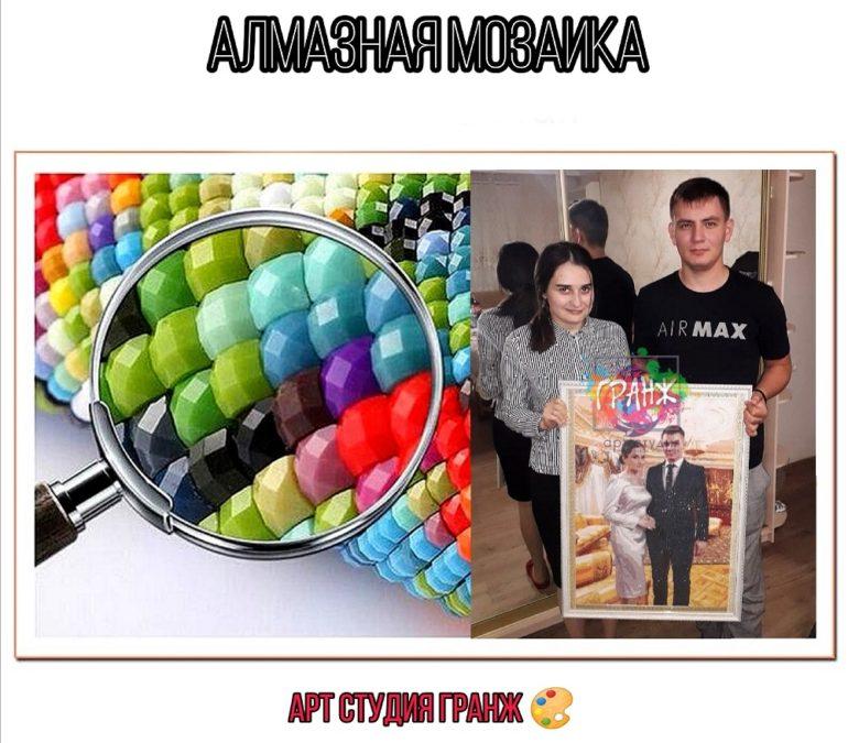 Алмазная мозаика по фото заказать в Ташкенте